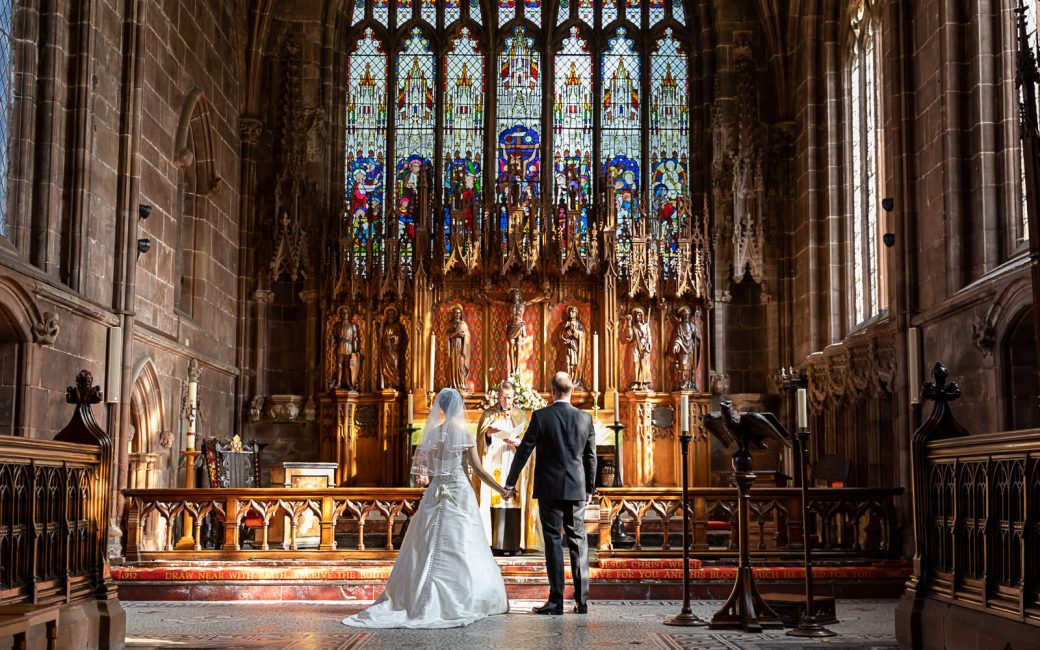 Wedding photography Nantwich Cheshire