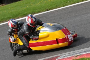 2017 Cadwell Race 25 Classic Sidecars